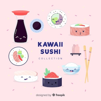 Kawaii sushi-collectio