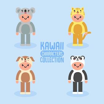 Kawaii tekens collectie