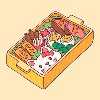 Kawaii umeboshi bento japanse lunchbox