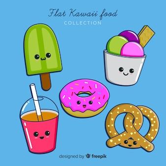 Kawaii voedselverzameling