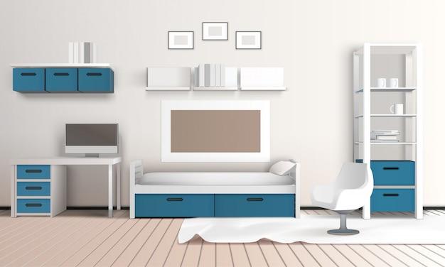 Keeping room appartement samenstelling
