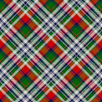 Keltisch klassiek geruit patroon met geruite naden