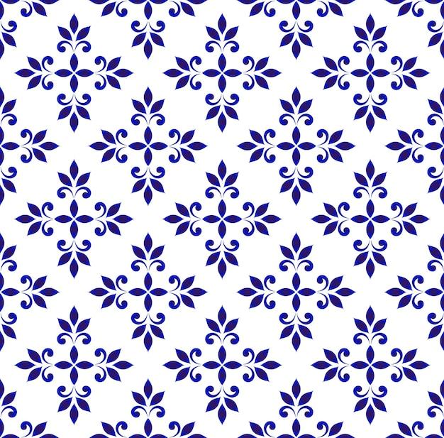 Keramische naadloze patroon vector