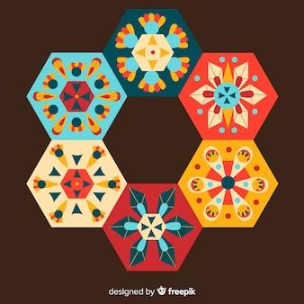 Keramische tegels collectie