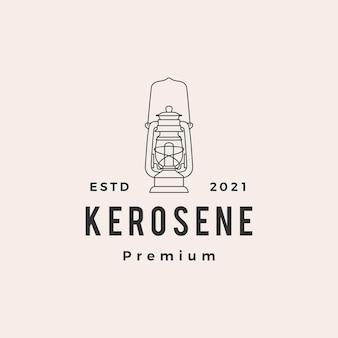 Kerosine lantaarn hipster vintage logo
