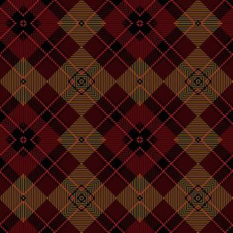 Kerst abstracte patroon. schotse geweven textuur. klassiek tartan naadloos patroon.