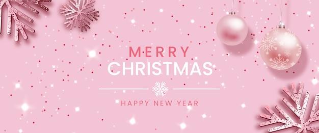 Kerst achtergrond in elegante stijl met glitters