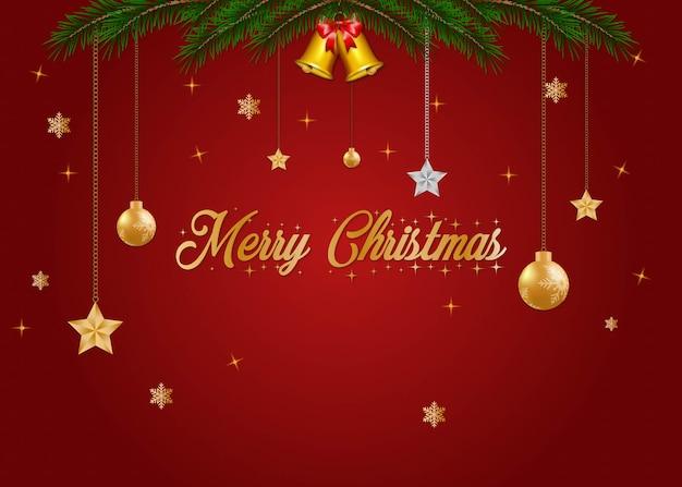 Kerst achtergrond sjabloon