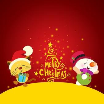 Kerst achtergrondontwerp