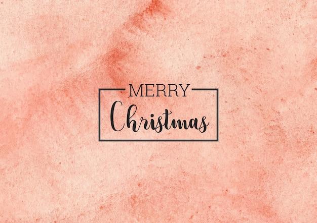 Kerst aquarel achtergrond