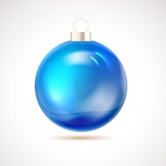 Kerst bal geïsoleerd