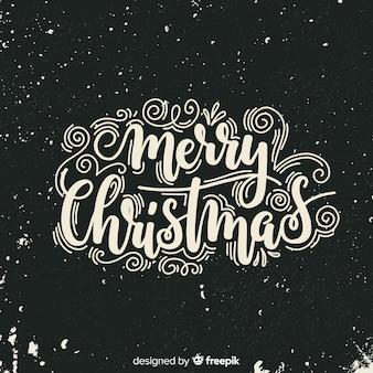 Kerst belettering achtergrond
