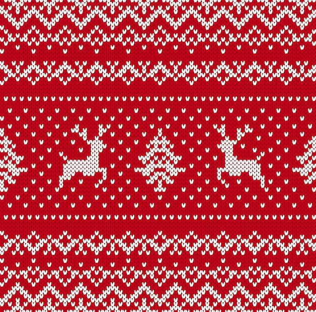 Kerst breipatroon.