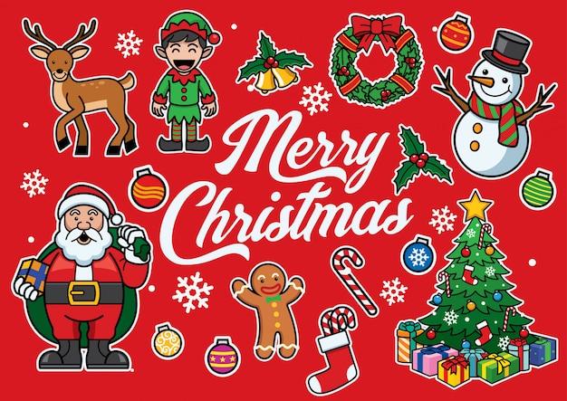 Kerst cartoon