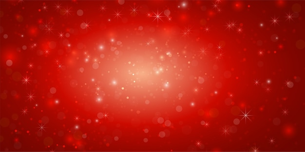Kerst concept abstracte rode banner als achtergrond