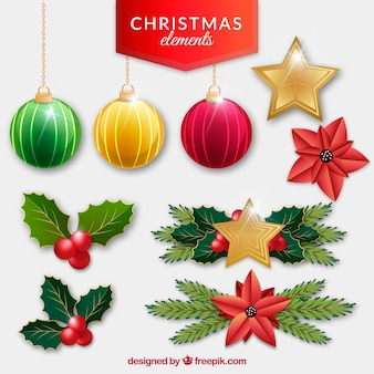 Kerst decoratie pakket