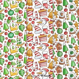 Kerst details patroon