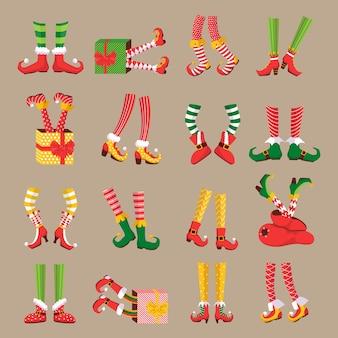 Kerst elf voeten