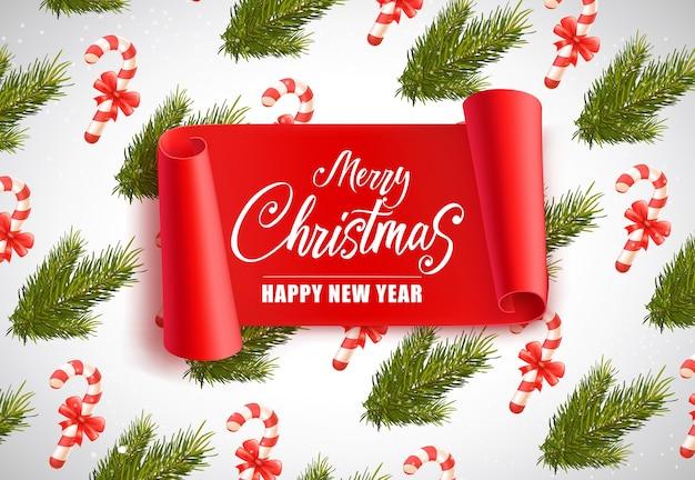 Kerst en nieuwjaar belettering