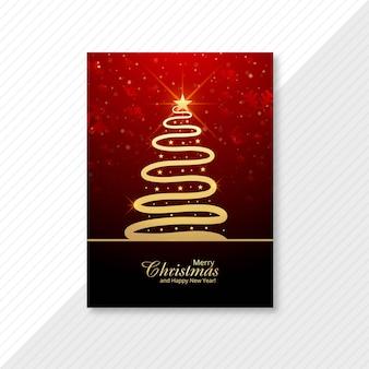 Kerst- en nieuwjaarsgroeten kerstkaart