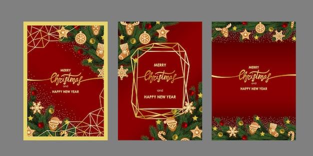 Kerst- en nieuwjaarsgroeten set