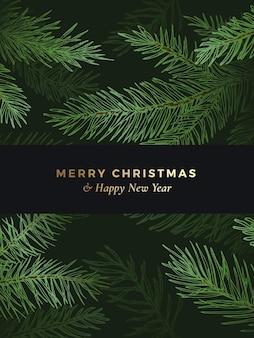 Kerst- en nieuwjaarswenskaart