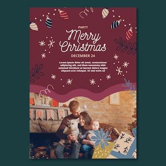 Kerst flyer a5 verticaal