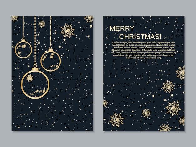 Kerst flyer collectie