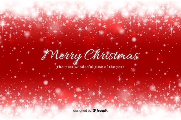 Kerst fonkelende achtergrond