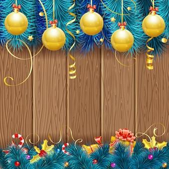 Kerst frame achtergrond