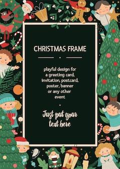 Kerst frame