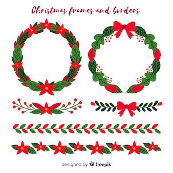 Kerst frames en randen