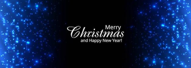 Kerst glanzende glitters sjabloon voor spandoek