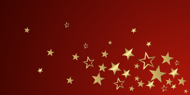 Kerst glitter sterren