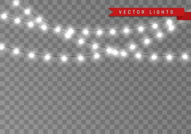 Kerst gloeiende slinger led neon lamp