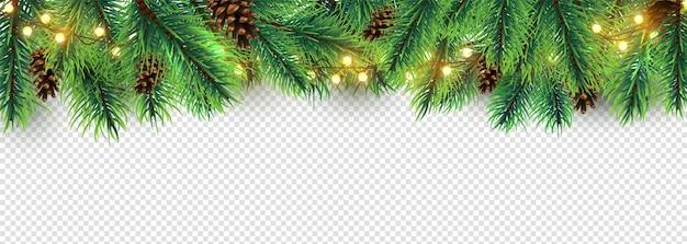 Kerst grens