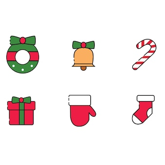 Kerst icon pack