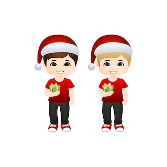 Kerst jongens