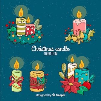 Kerst kaarsen collectie