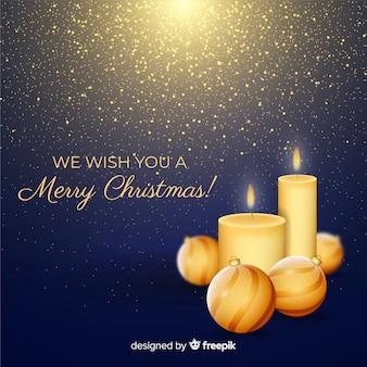 Kerst kaarsen