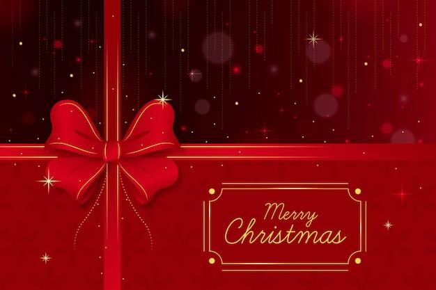 Kerst lint achtergrond