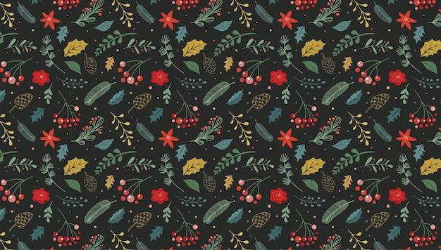 Kerst modern, elegant patroon