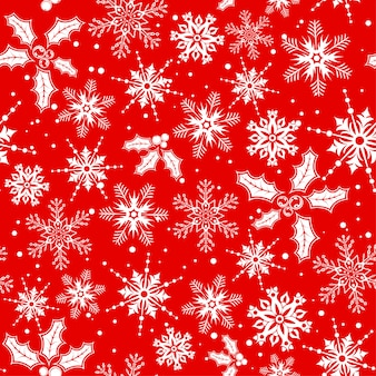 Kerst naadloze achtergrond