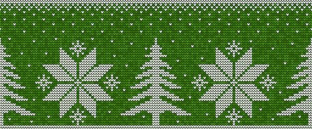 Kerst naadloze patroon achtergrond
