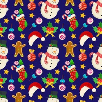 Kerst naadloze patroon