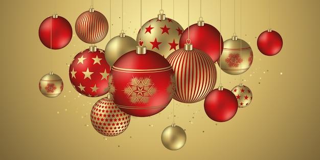Kerst ontwerp banner