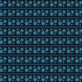 Kerst ontwerp met achtergrondpatroon