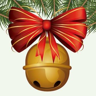 Kerst ornament achtergrond