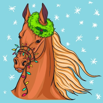 Kerst paard