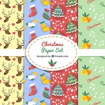 Kerst paper set